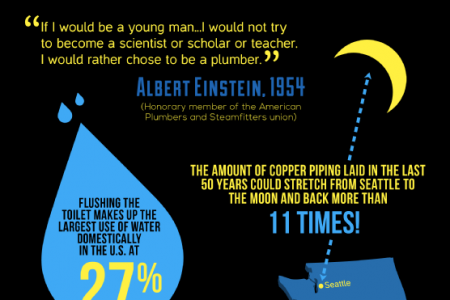Pipes and Plumbing: Stunning Stats and Fascinating Facts  Infographic