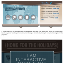 Plan Away Your Holiday Travel Woes Infographic