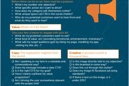 Plan Before You Promote: Complimentary Ad Creation Worksheet Infographic