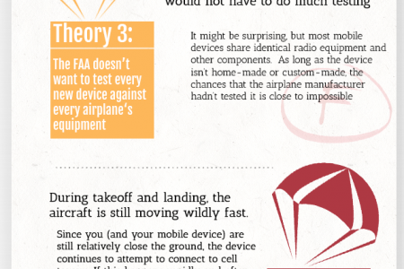 Please Stow All Electronic Devices Before Takeoff Infographic