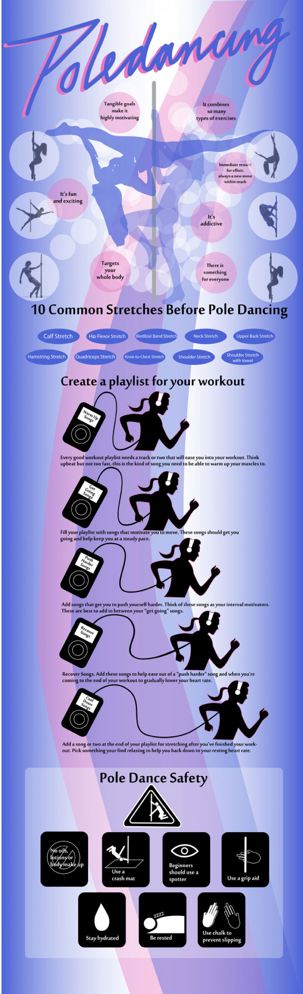Pole Dancing Needing Attention Infographic