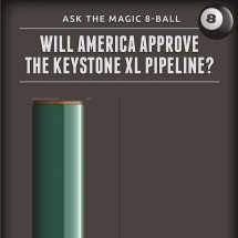 Political Money Predicts Keystone's Future Infographic