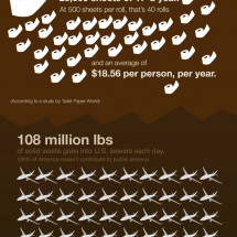 Pooponomics: The Economy of Human Waste Infographic