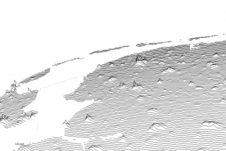 Population density in the Netherlands Infographic