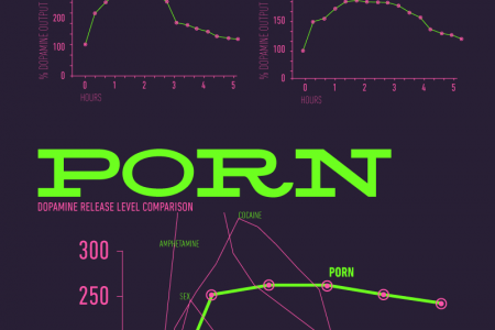 Porn Effects on Dopamine Levels Infographic