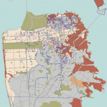 Potentially Earthquake-Unsafe Residential Buildings in San Francisco Infographic