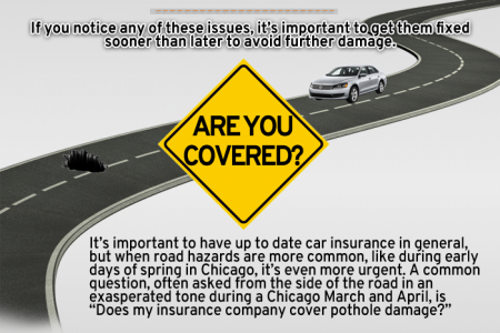 Pothole Problems Infographic