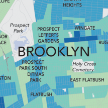 Poverty In Brooklyn: A Block by Block Analysis Infographic