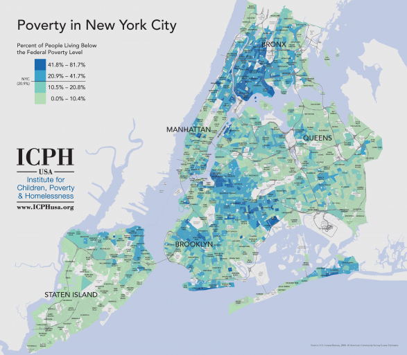 Poverty in New York City