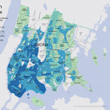 Poverty in the Bronx Infographic