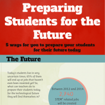 Preparing Students for the Future Infographic