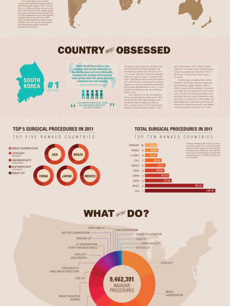 Pretty in Plastic Infographic