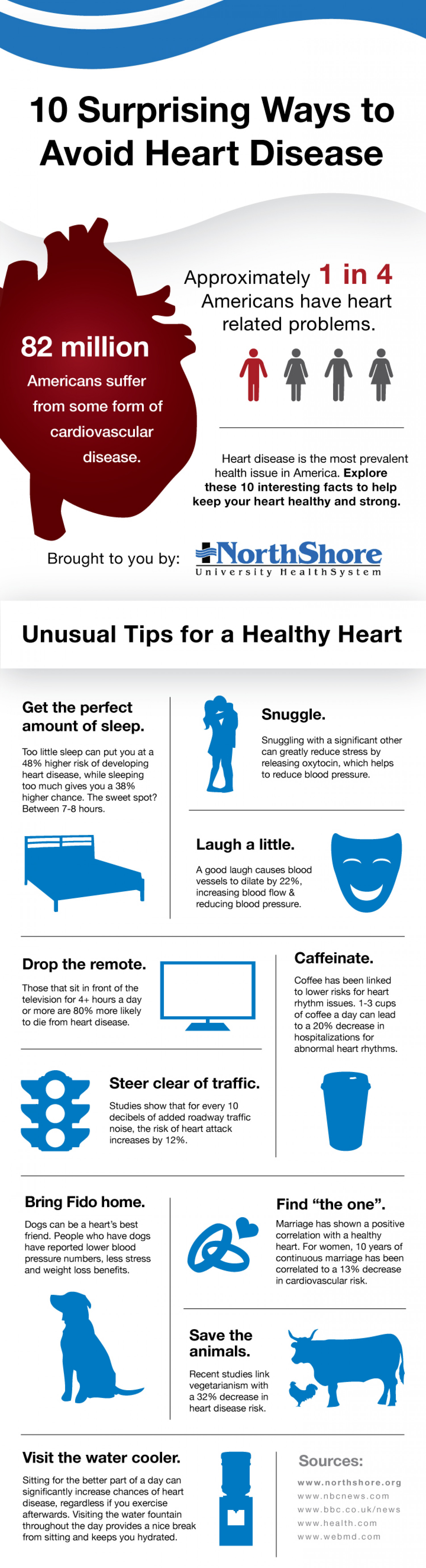 Prevent Heart Disease With These Surprising Heart Healthy Tips Infographic