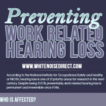 Preventing Work-Related Hearing Loss Infographic