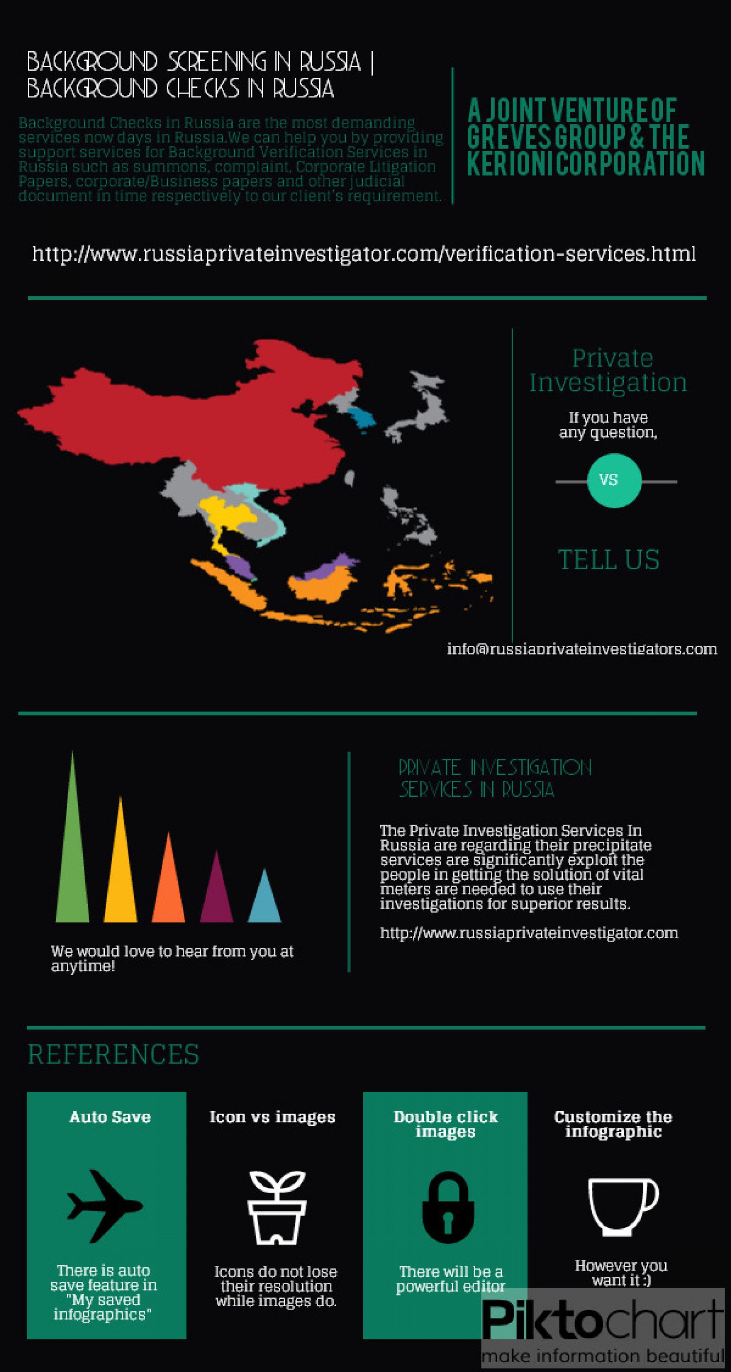 Background Checks in Russia Infographic