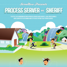 Process Server vs Sheriff Infographic