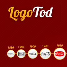 Progression of Logo Design Infographic