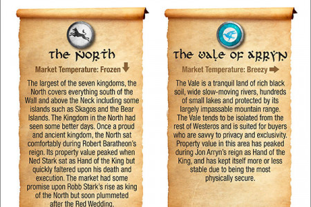 Property Values in the Seven Kingdoms of Westeros Infographic