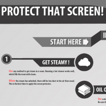 Protect That Screen! Infographic