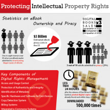 Protecting Intellectual Property Rights Infographic