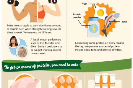 Protein Power: The Facts Speak for Themselves Infographic Infographic