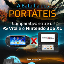PS Vita vs. Nintendo 3DS XL Infographic