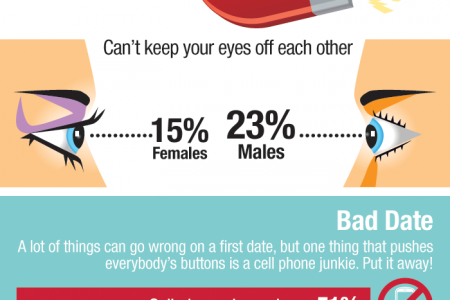 Public Opinion Says Excessive Cell Phone Use Is a Dating Disaster  Infographic