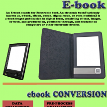 Publishing a book, and convert a PDF to ePub, Mobi and other e-book formats! Infographic