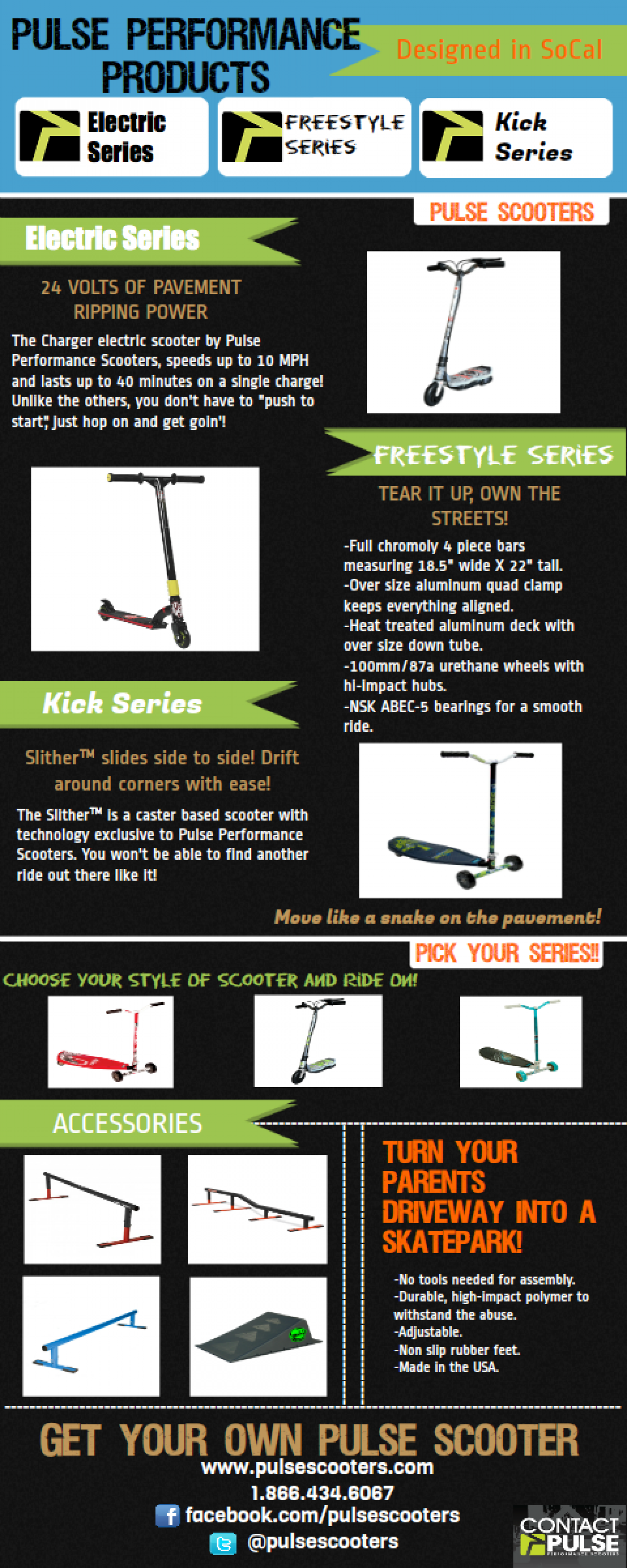 Pulse Scooters Infographic