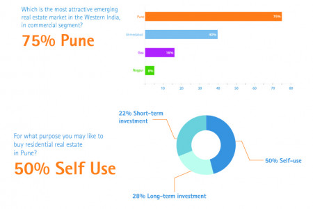 Pune Real Estate Infographic