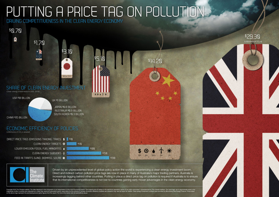 Putting a Price Tag on Pollution Infographic