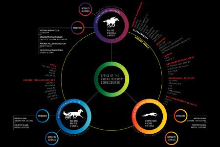 Racing Industry Stakeholders Infographic