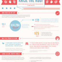 Raise the Roof: a Look at the U.S. Debt Ceiling Infographic