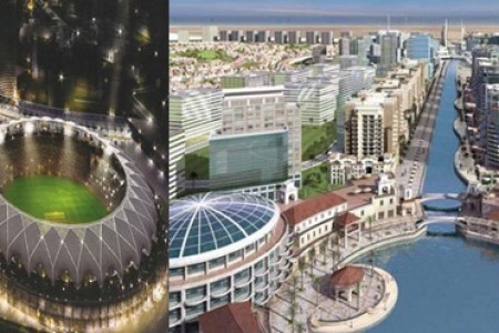 Rajesh Nagpal Dubai Sports City Infographic