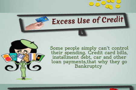 Reason Why People Go Bankrupt Infographic