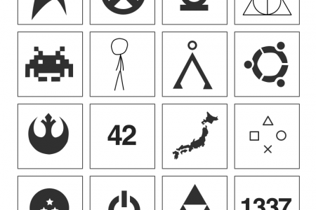 Recognize All These Symbols and Get a Prize Infographic