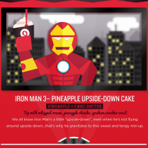 Red Spoons and the Silver Screen: Summer Blockbusters + Fro-yo Infographic