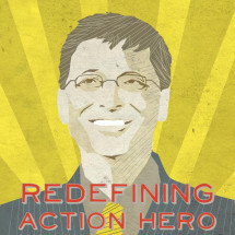 Redefining Action Hero: Bill Gates is Better Than Batman Infographic