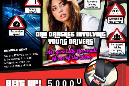 RED's GTA-Inspired road safety graphic Infographic