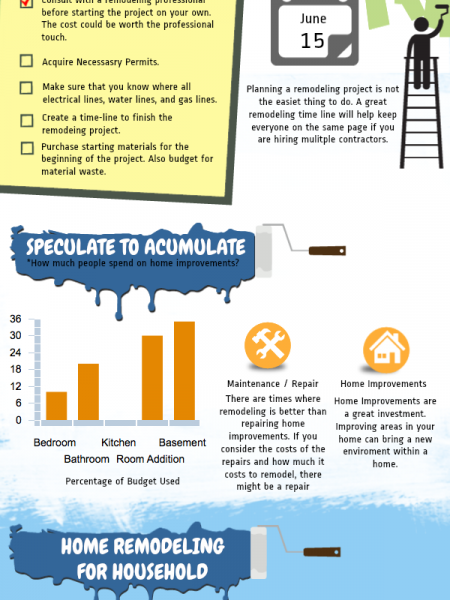 Remodeling Ideas Infographic