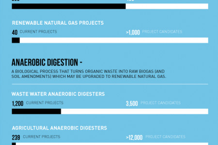 Renewable Natural Gas: Clean, Green Energy Infographic