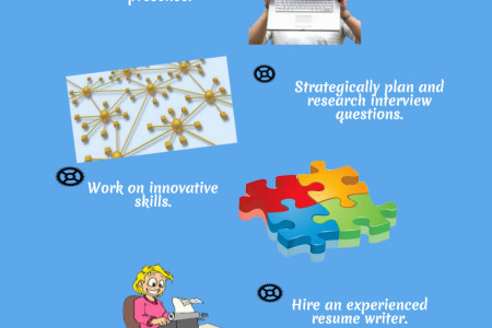 Result-Oriented Job Search Tips Infographic