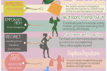 Retail Therapy Myths vs Facts Infographic