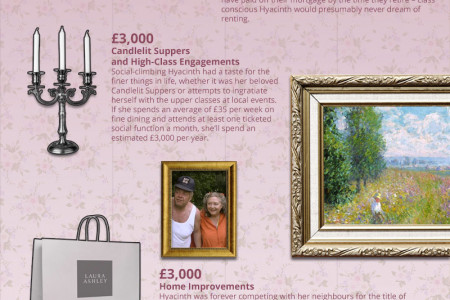 Retirement? You're Having a Laugh - Hyacinth Bucket Infographic
