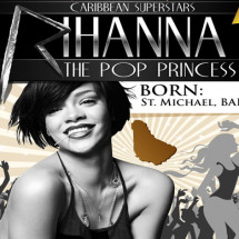 Rihanna The Pop Princess Infographic