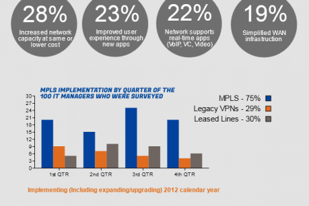 Rise of MPLS IP VPNs Infographic