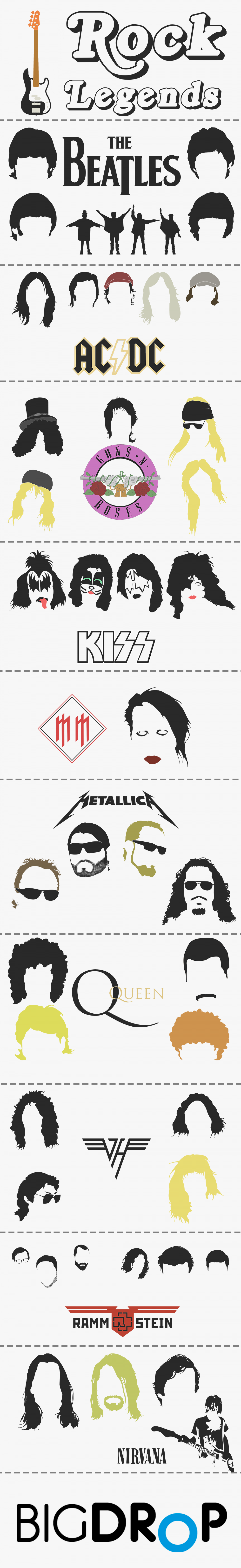Rock Legends Infographic