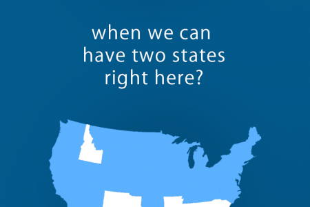 Romney's Two State Solution Infographic