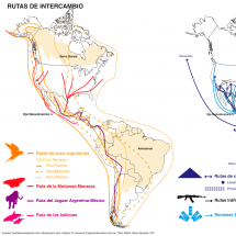 Rutas de intercambio 1 Infographic