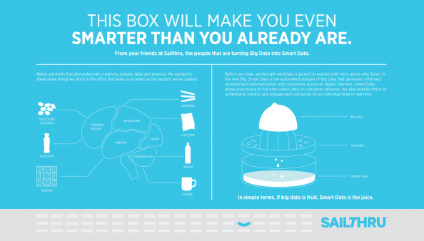 Sailthru: Smart Data is the new Big Data Infographic